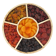 Tray Dried Fruits Round