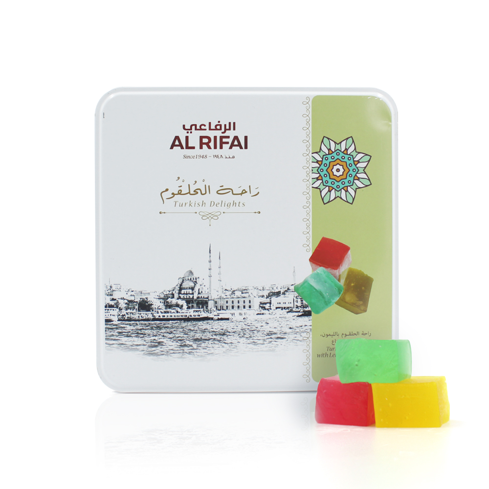 Turkish Delight with Lemon, Rose & Mint 400g