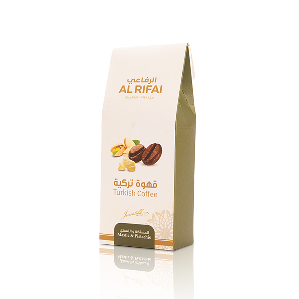 Turkish Coffee - Mastic & Pistachio Flavour 100g