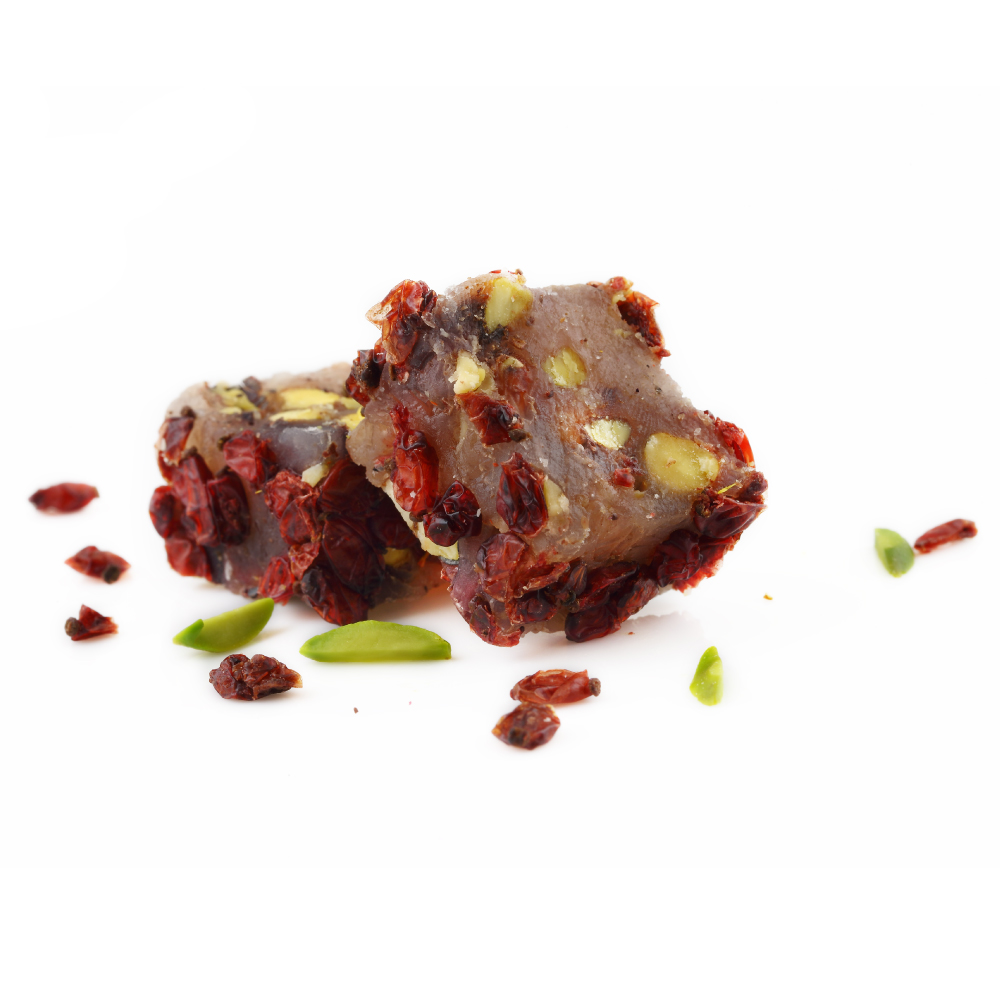Turkish Delight Pomegranate  with Pistachios & Zereshk