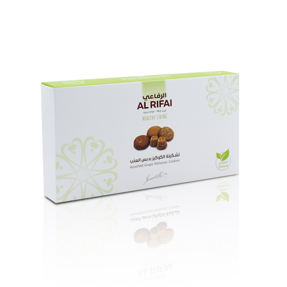 Assorted Cookies With Natural Fruits 420g